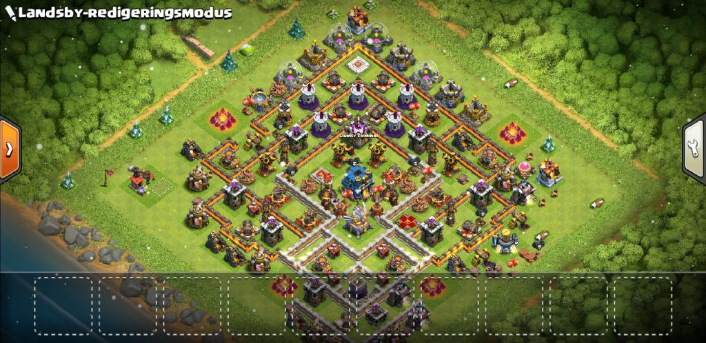 Clash of Clans Bases farm for Town Hall 12 ClashTrack com - clan