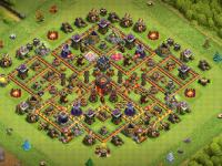 Clash of Clans hybrid base