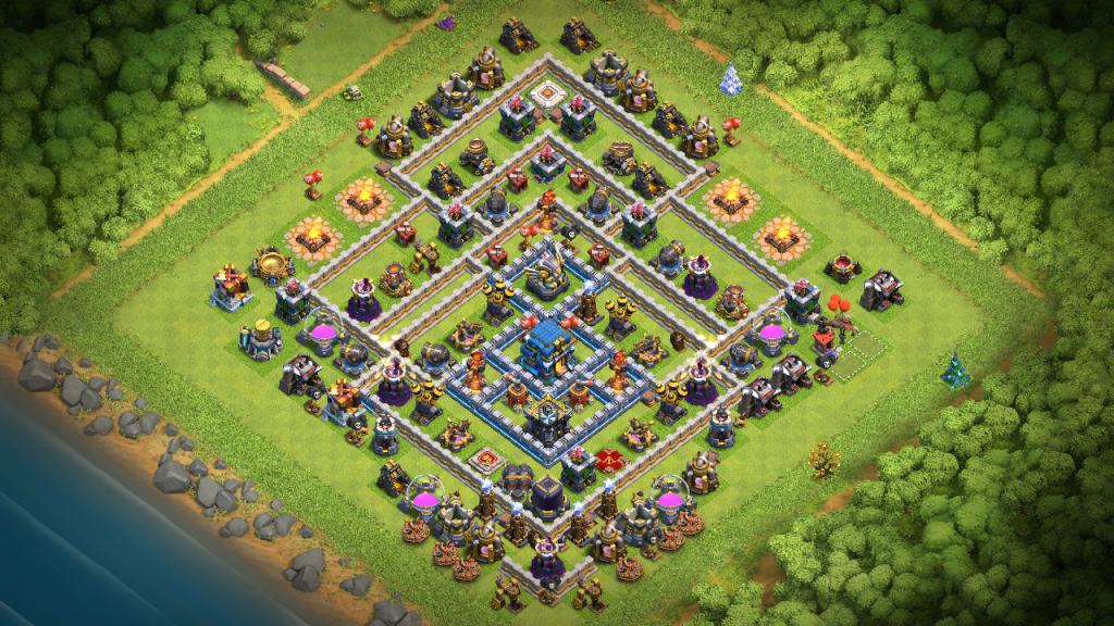 Clash of Clans Bases trophy for Town Hall 12 ClashTrack com