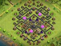 Clash of Clans trophy base
