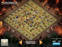 Clash of Clans war base